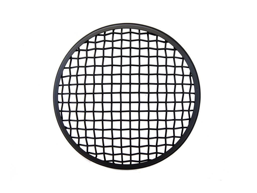 175mm mesh grill insert black