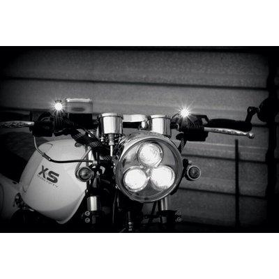 "6.75"" Chrome Cyclops Headlight Type 2"