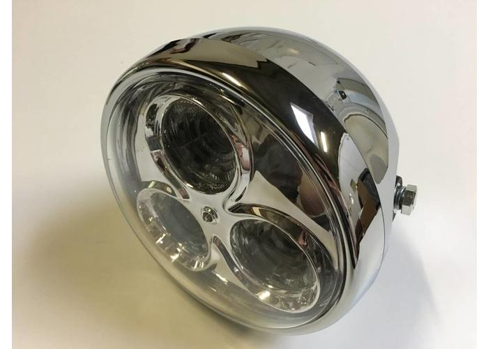 "6.75"" Chrome Cyclops Scheinwerfer Type 2"