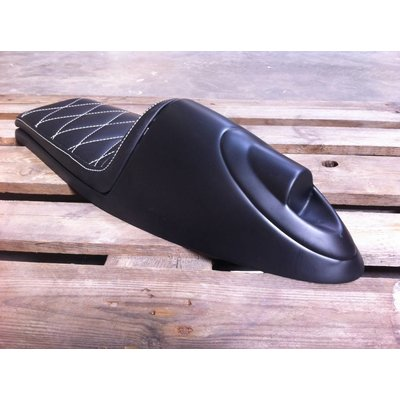C.Racer Cafe Racer Seat Diamond Stitch Blackt Type 92