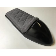 Cafe Racer Seat Diamond Stitch Grey Type 132