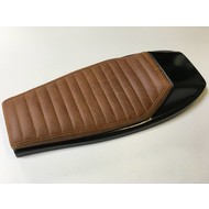 Street Tracker Seat Vintage Brown / Yellow 130