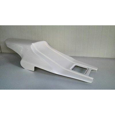 Fiberglass Cafe Racer Sitzhöcker Type 27 aus GFK gefertigt