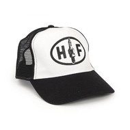 Holy Freedom Black & White Garage Cap