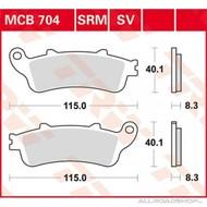 Brake Pad Set MCB704SV