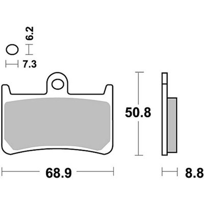 TRW Bremsbelagsatz MCB611V