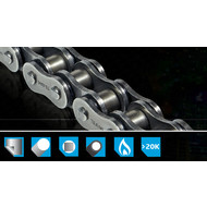 Chain / Sprocket Set 15/43/530 OMEGA ORS