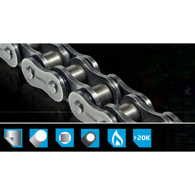 Tsubaki Chain / Sprocket Set 15/48/525 OMEGA ORS