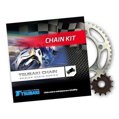 Tsubaki Kit de chaîne et pignon 16/45/525 ALPHA XRG