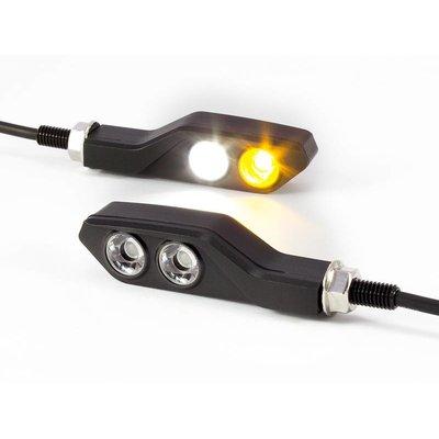 LED Rücklicht-Einheit Bullet CNC Schwarz