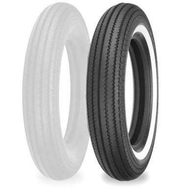 Shinko E 270 4.00 -19 TT 61 H White Wall