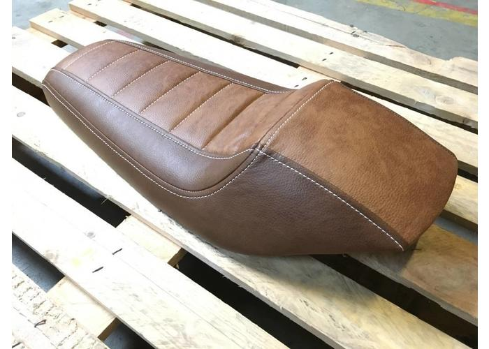 Tracker Seat Fully Upholstered Vintage Brown 20