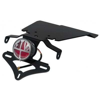 Motone [Triumph] Miller FTW Endschalldämpfer - Tail Tidy Plate - Loom - KIT