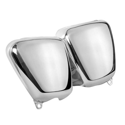 Motone Seitenverkleidung Set - Poliertes Aluminium