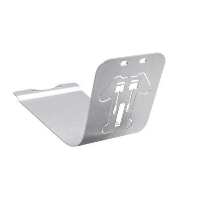 Motone Sump Guard - Bash Plate - Skid Plate - Triumph T - Silver