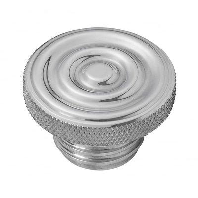 Motone Kundenspezifische Kraftstoff-Gas-Kappe - Billet Aluminium - Gewellt
