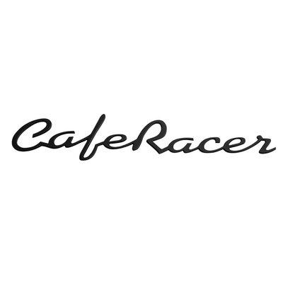 Motone Paire de badges Café Racer noirs