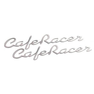 Motone Paire de badges Café Racer polis