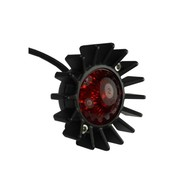 Motone Big Fin Tail Light - LED - Black