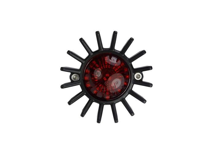 Motone Big Fin Tail Light - LED - Black
