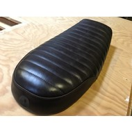 Handmade BMW Brat Seat Real Leather Dark Brown 43