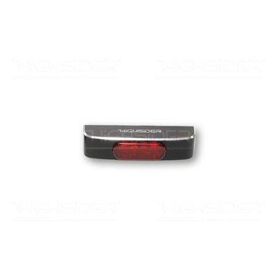 Highsider LED Taillight Conero Rot - E-geprüft