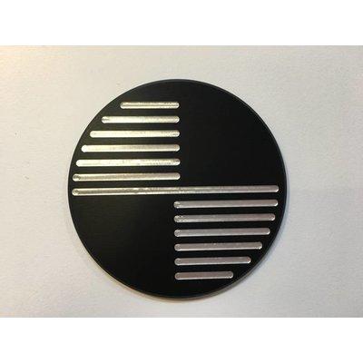 Emblèmes BMW noires 70MM faites à la main, type 1