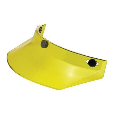 Biltwell Visière de moto jaune