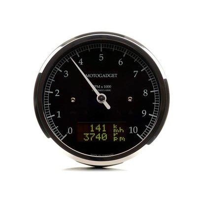 Motogadget Chronoclassic Analog-DZM Classic Poliert 10.000 RPM