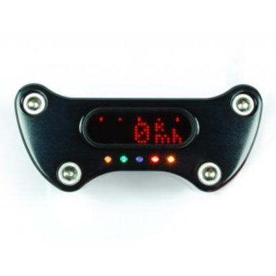 Motogadget MSM H-D Handle Bar Top Clamp 1 Zoll Zwarch Eloxiert