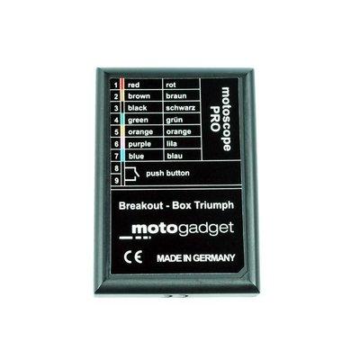 Motogadget msp Breakout Box Triumph