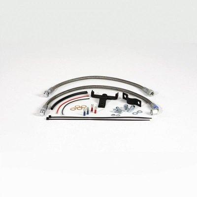 Schlauchkit Ölkühlerverlegung in die Mitte für BMW R2V Boxer Modelle