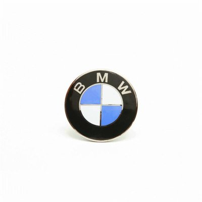 Emblem BMW 70mm, /6 models, enameled