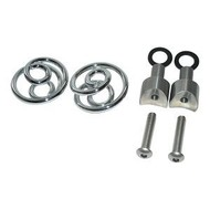 """Spiral Springs Chrome 1"""" with Mounting"""
