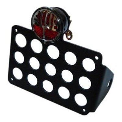 Fixation latérale avec feu de stop LED