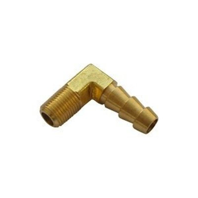 Fitting 90° 1/8 NPT Brass