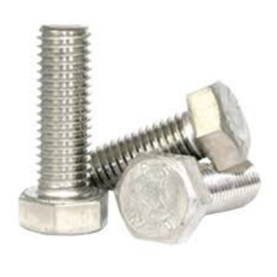 Hexagon bolt 1/4 UNC x 1 inch