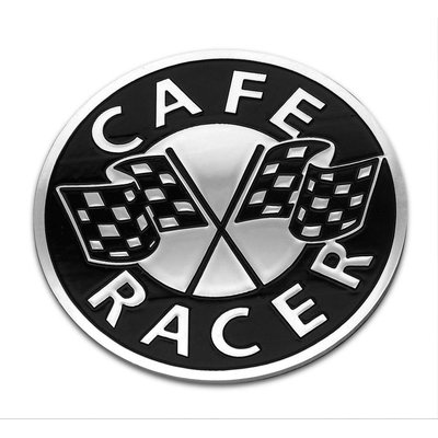 Motone Cafe Racer Badge