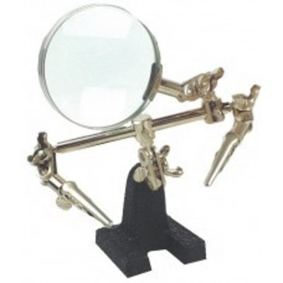 Mannesmann Third hand with magnifier