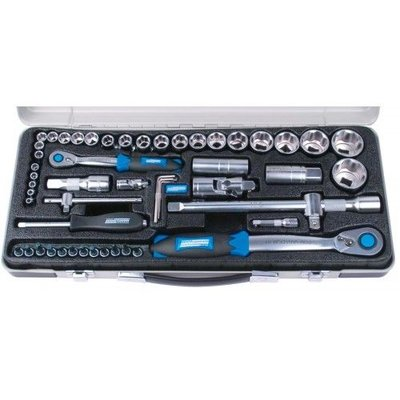 Mannesmann Socket set Premium 55 pieces 1/4+1/2