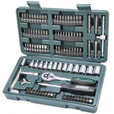 """Mannesmann Kit clé 1/4"""" et cliquets - 130 pièces"""
