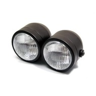 Shin Yo Twin Headlight Dull Black