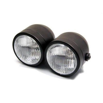Shin Yo Doppel-Fernscheinwerfer -Schwarz