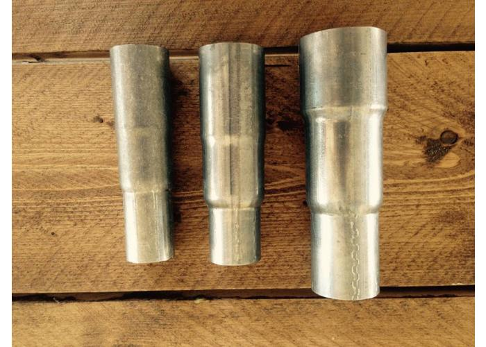 63/57/51MM Auspuff Minderer Rostfrei-Stahl