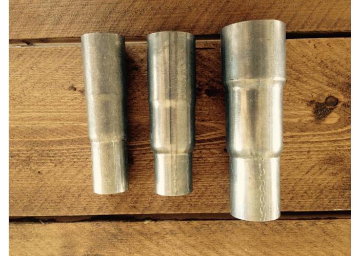 51/48/41MM Auspuff Minderer Rostfrei-Stahl