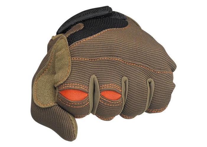 Biltwell Moto Gloves - Brown/Orange