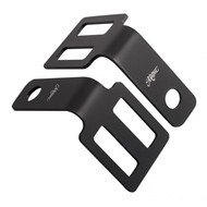 Motone Indicator Brackets Under Seat Mount Black