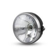 "6.75"" Black & Chrome Classic Headlight"