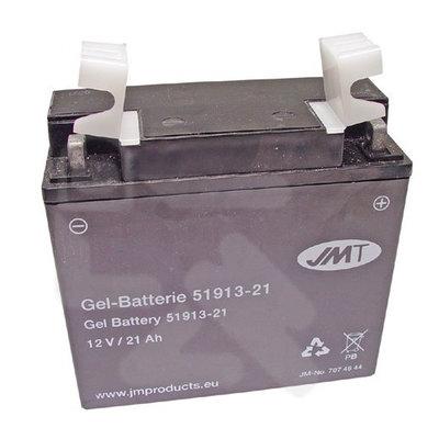 JMT 519.13 Gel Motorradbatterie 21A BMW R100