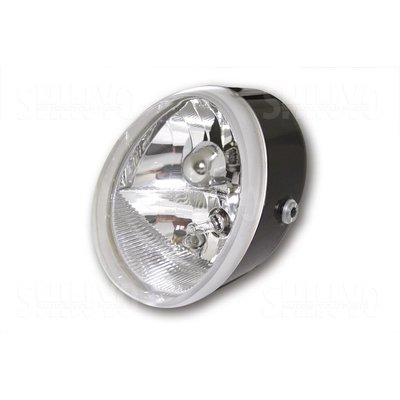 Shin Yo Headlight OVAL, black
